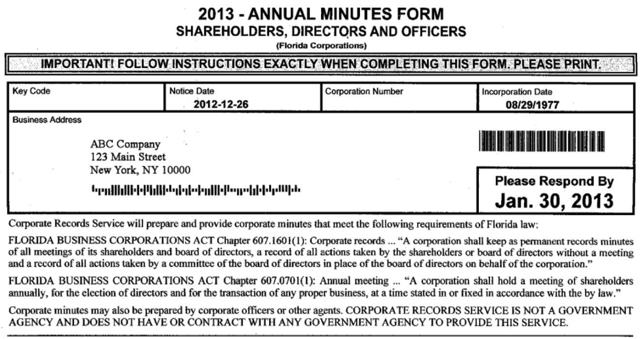 Compliance Scam