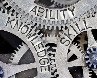 Cogs Ability Knowledge Skill - Springing Member - Fotolia_178619532_XS