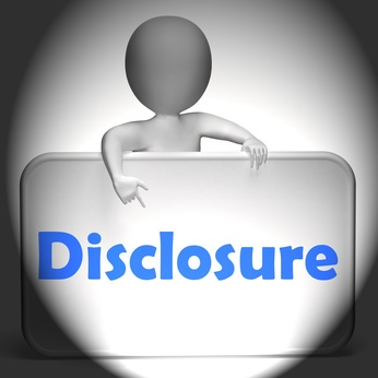 nonprofit disclosure statement