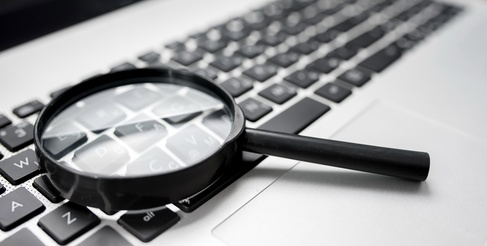 What do I look for in IP due diligence searches?