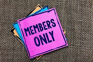 Members only.