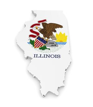 Illinois State Seal - Admin Change Effective January 1, 2020