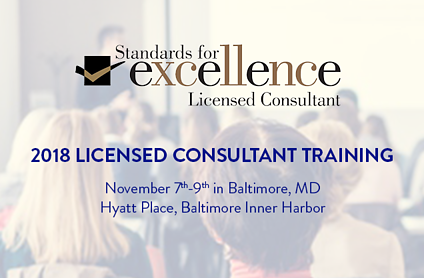 Standards for Excellence Licensed Consultant Training 2018 Recap with Ron Barrett