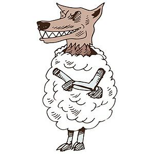 Wolf in sheeps clothing - Fotolia_57583908_XS