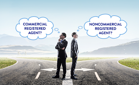 Commercial versus Noncommercial Registered Agents