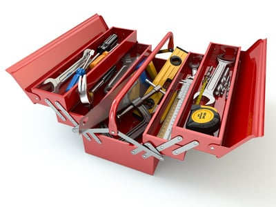 [Image: Open Toolbox Full of Tools.]