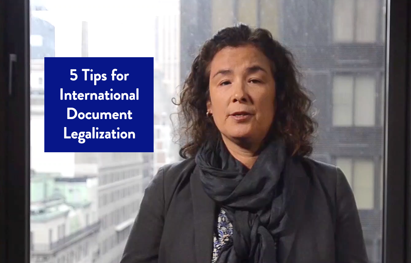 5 Tips for International Document Legalization