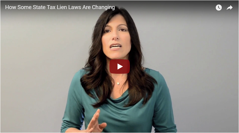 How Some State Tax Lien Laws are Changing